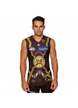 2020 Hawthorn Hawks Mens Indigenous Guernsey