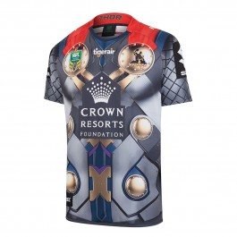 Melbourne Storm 2017 Men's Thor Marvel Jersey