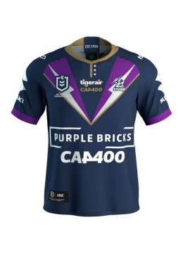2019 Melbourne Storm Cameron Smith 400 Game Men's Jersey
