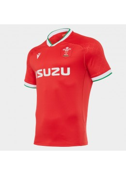 2021 Macron Wales Home Rugby Jersey
