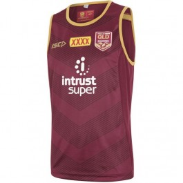 QLD Maroons 2018 Men's Training Singlet