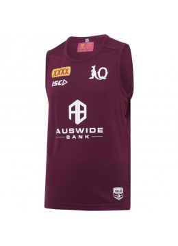QLD Maroons 2020 Men's Training Singlet
